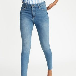 Old Navy High Waisted Super Skinny Rockstar Jeans